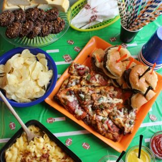 Touchdown Party Tips + Easy Football Party Food