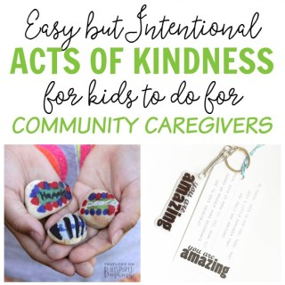 9 Acts of Kindness Kids Can Do for Community Caregivers