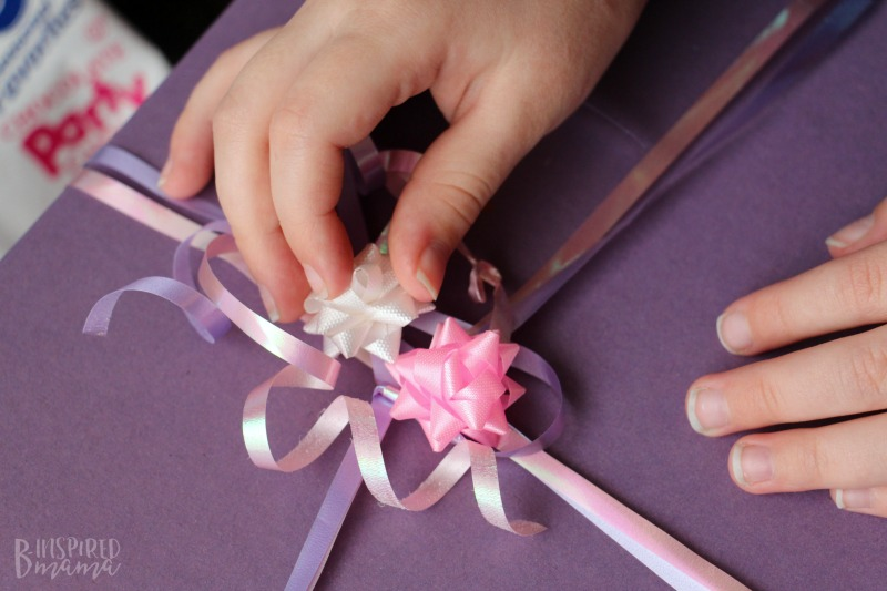 Send a fun Birthday in a Box - for that special child you can't see on her Birthday