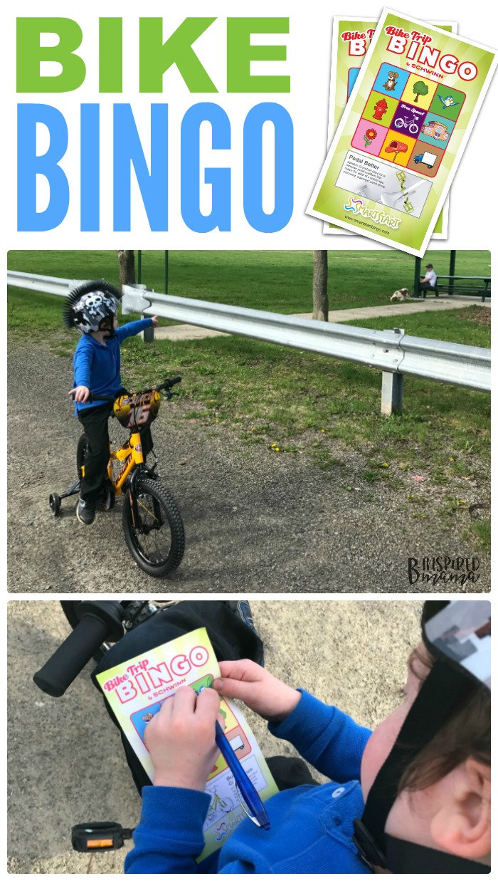 Kids Bike Bingo - Makes Learning to Ride a Bike Fun