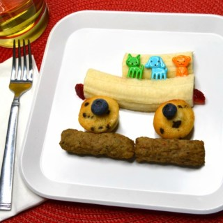 A Kids Bus-Themed Before School Breakfast