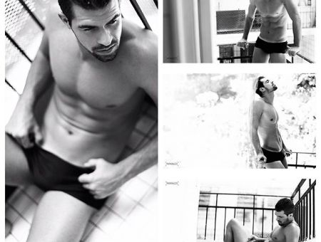 Bruno Miranda @ 40 Graus Models by Marcos Serra Lima for Paparazzo
