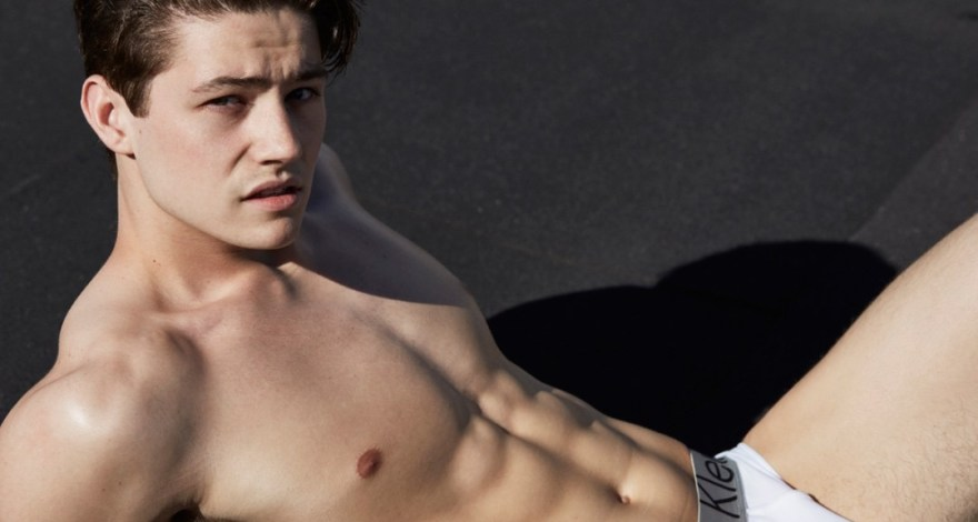 Cory Bower @ David Todd Model Management by Gregory Vaughan in his Calvin Klein Underwear