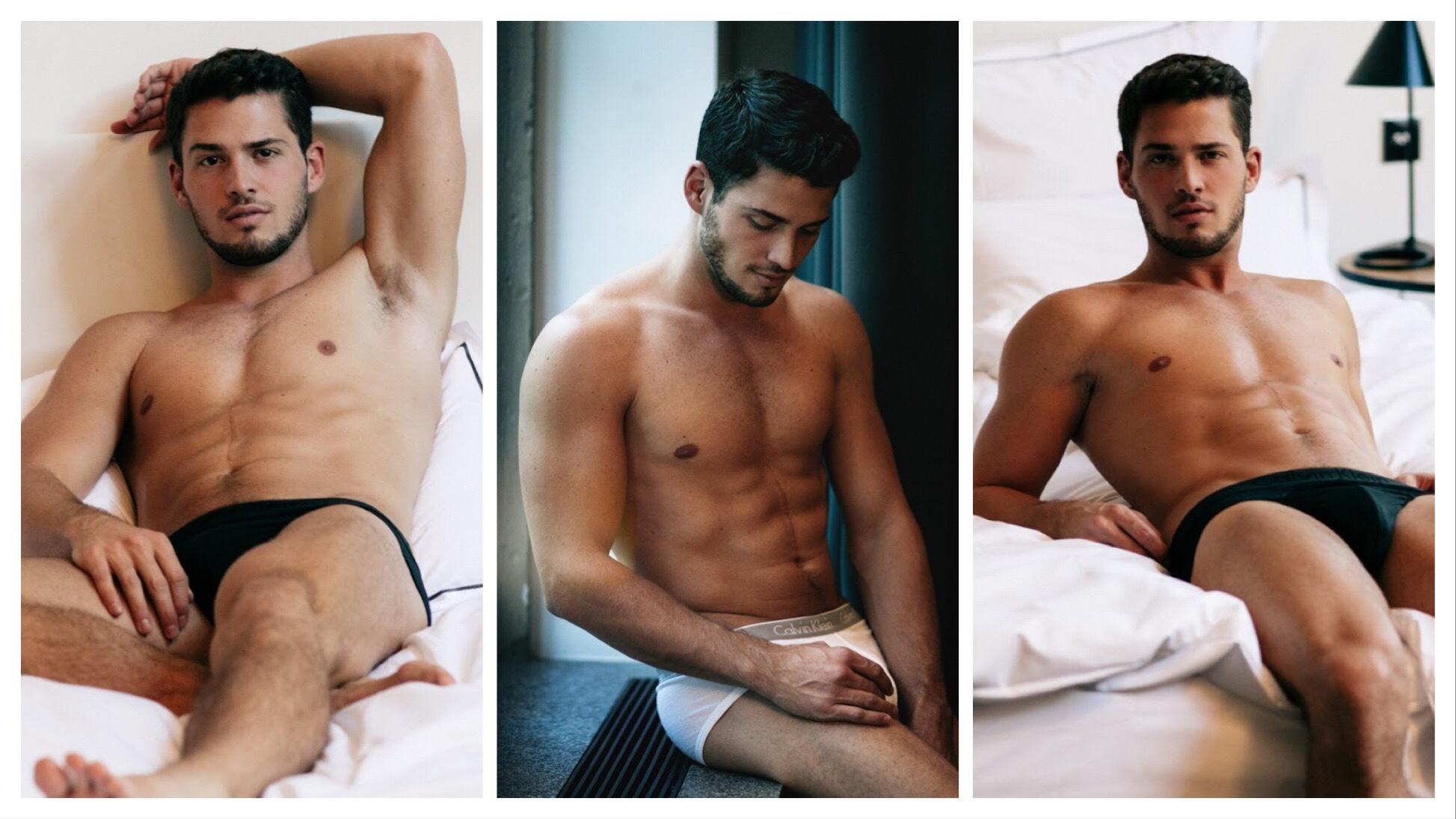 🇩🇪Kris by Lukas Sowada in his Calvin Klein Underwear