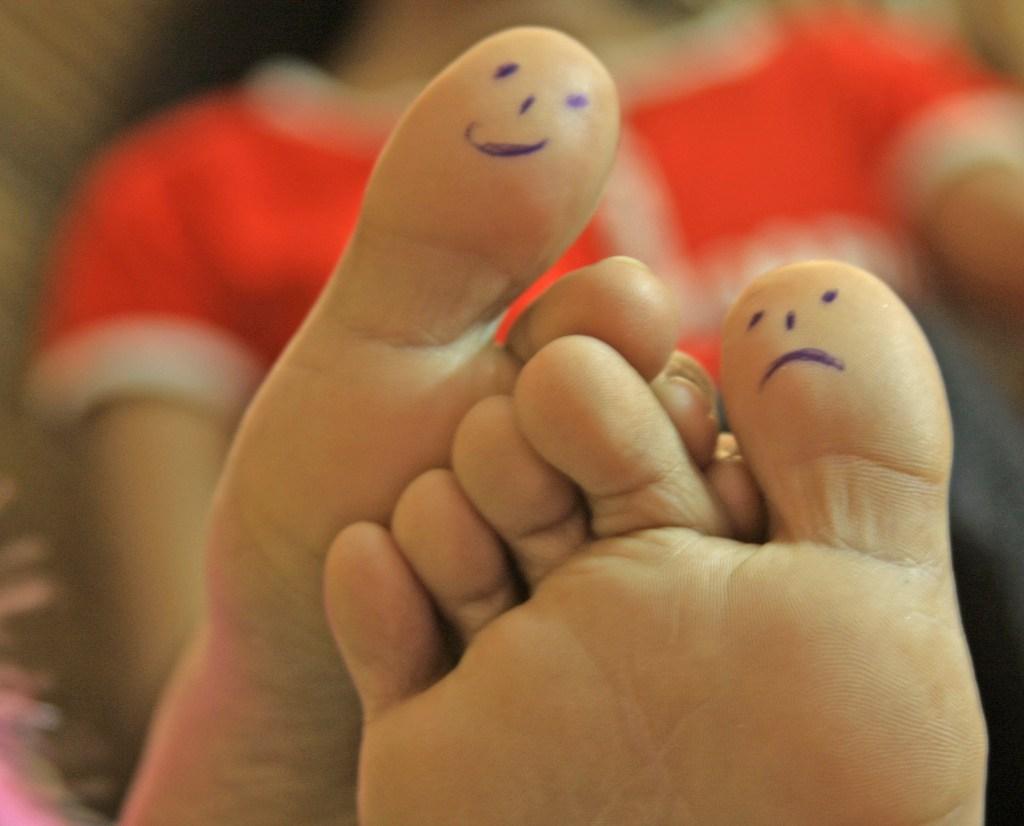 B-One-Parent voeten
