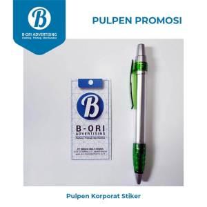Pulpen Promosi Korporat (Stiker)