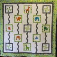 Quilting Zoo Animals Carousel