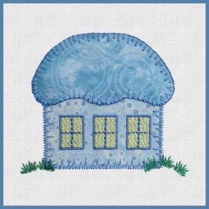Embroidery for Reiko Kato houses