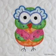 Owl Quilt for Baby Johanna