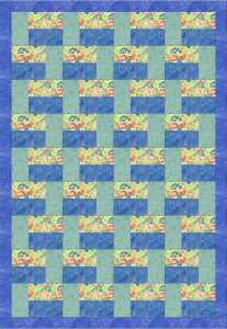 Brick Tee Quilt in EQ