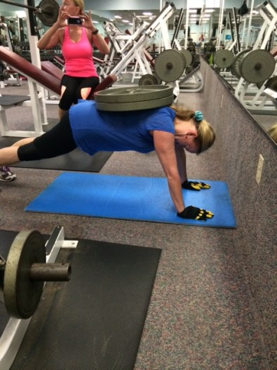 Joanne Straight Arm Plank