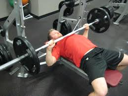 bench press elbows flare
