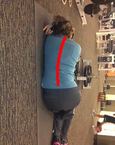Diane spine outline