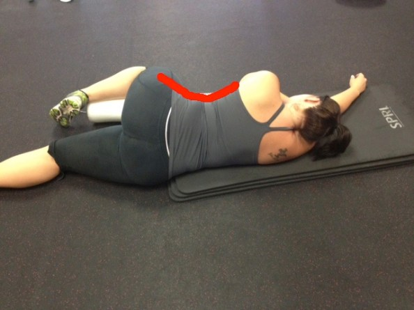 Sarah sleep with knee support with top line