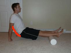 foam roller calves lower back bad