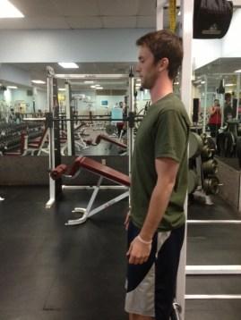 Straight Arm Arm Raise bottom