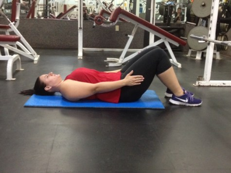 Supine Arm Raise from extension