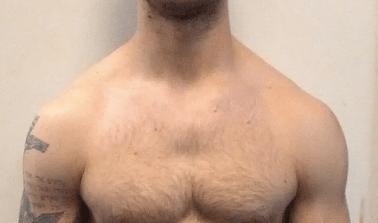 Jeremy Shoulder Close Up