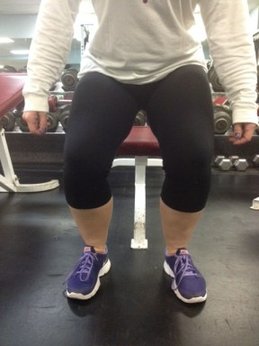 Squat knees better