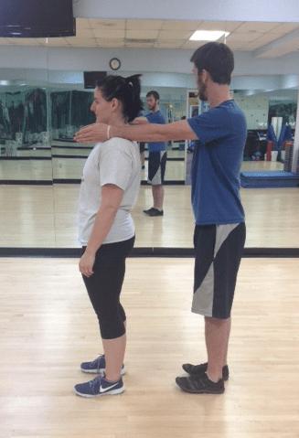 Standing gravity stress assessment bad posture