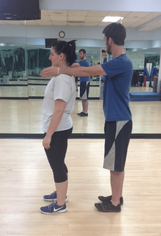 Standing gravity stress assessment bad posture