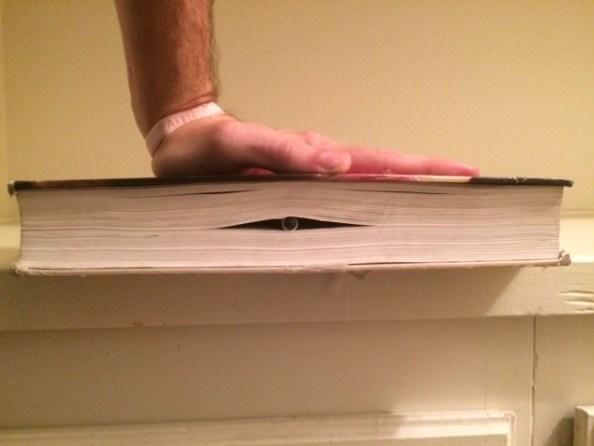 Pen in book 2