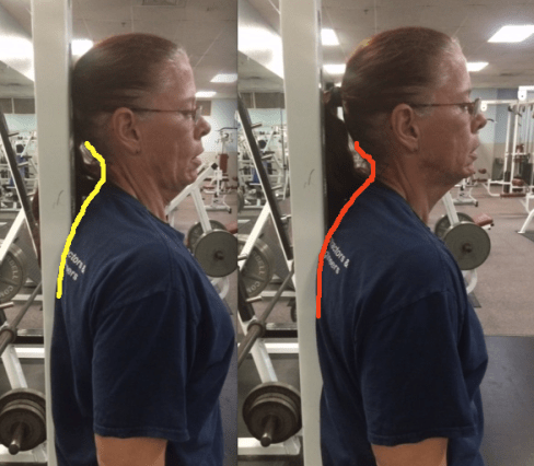 Bicep Curls with different head set ups side by side