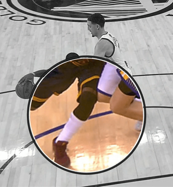 Kyrie Irving knee contact 2
