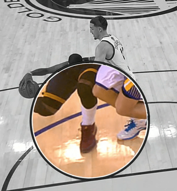 Kyrie Irving knee contact 3