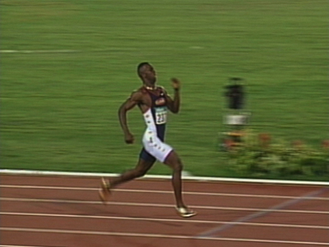 michael johnson running