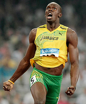 Usain Bolt muscle