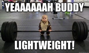 Baby Deadlift light weight