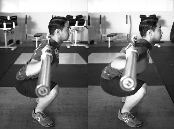 Credit: http://functionalalexch.blogspot.com/2013/02/low-bar-vs-high-bar-back-squat.html
