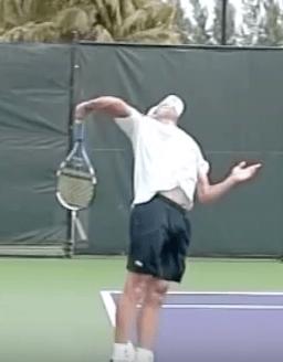 Roddick serve valgus stress elbow