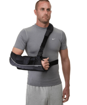 Sling internal rotation ROM shoulder surgery