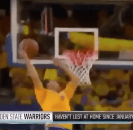Steph Curry can dunk