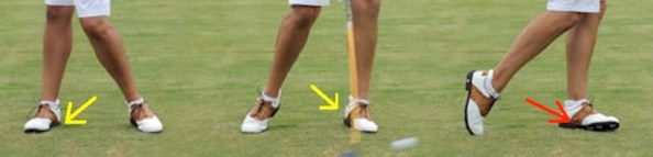 golf-swing-analysis-feet-front-view-ankles-with-lines