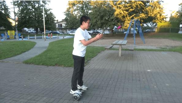 Pokemon Go hoverboard