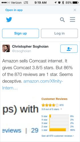 amazon-comcast-tweet
