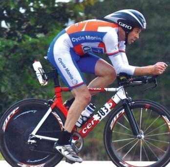 cycling aerodynamic position