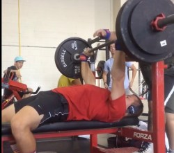 Bench Press shoulder flexion