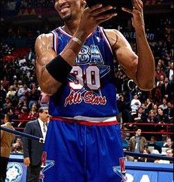 Scottie Pippen MVP du All-Star Game 1994 (c) Getty