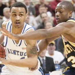 Dwyane Wade lors de Marquette-Kentucky (c) AP
