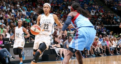 La performance monstrueuse de Maya Moore en 2014