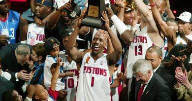 """Chauncey Billups, le """"Mr Big Shot"""" élu MVP des NBA Finals 2004"""