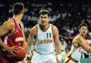 Eurobasket 1995 : Arvydas Sabonis, un double-double de moyenne flamboyant avec la Lituanie