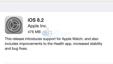 Photo of אפל שחררה את iOS 8.2; מה חדש בגרסה?