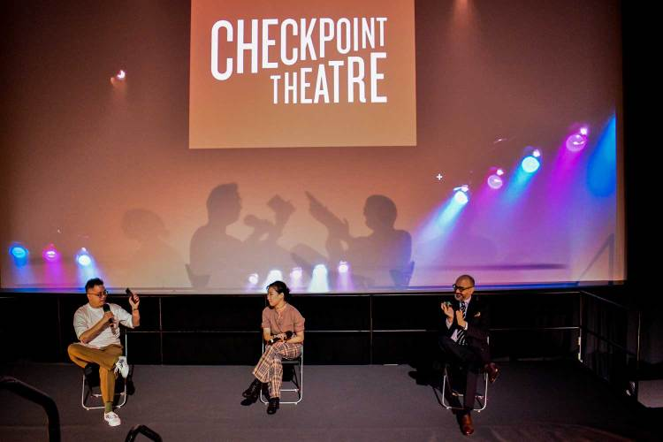 Huzir Sulaiman weish checkpoint Theatre