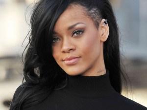 Rihanna in Black