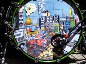 Slightly Stoopid's Drum Set